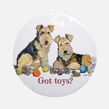 Got Toys Terriers Ornament (Round)