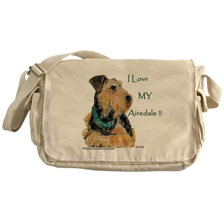 Love my Airedale Messenger Bag