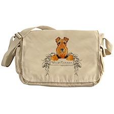 Welsh Terrier Banner Messenger Bag