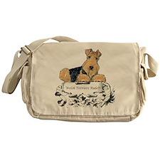 Welsh Terriers Rule! Messenger Bag