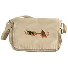 Unique Irish terrier Messenger Bag