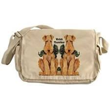 Welsh Terrier Messenger Bag