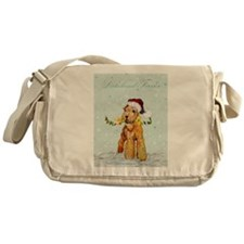 Lakeland Holiday Santa Messenger Bag