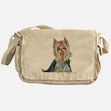 Yorkshire Terrier Her Highnes Messenger Bag