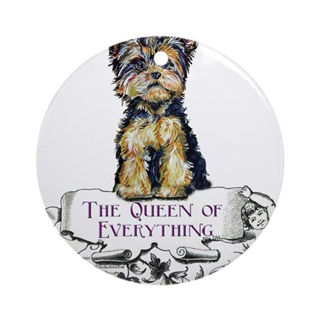 Yorkshire Terrier Ornament (Round)