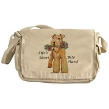 Airedales Rule! Messenger Bag