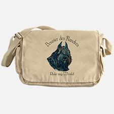 Bouvier des Flandres Rule Messenger Bag