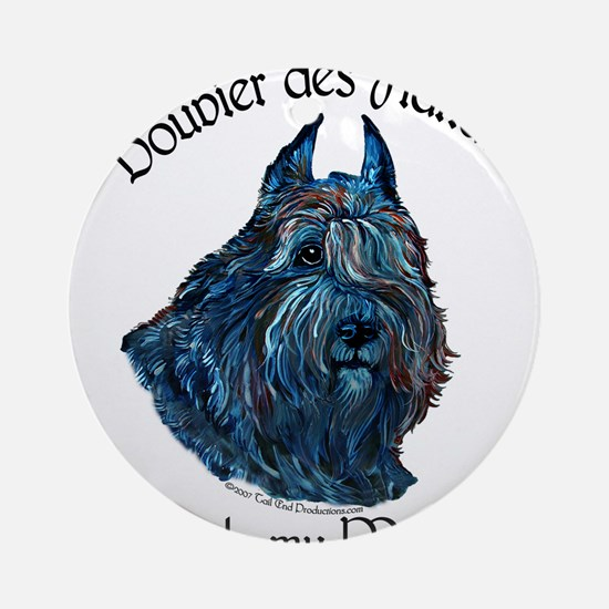 Bouvier des Flandres Rule Ornament (Round)
