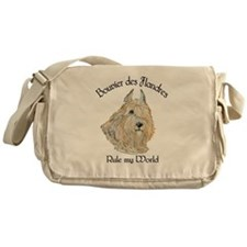 Bouvier des Flandres Wheaten Messenger Bag