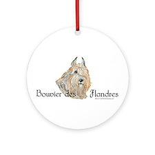 Bouvier Sweetie Ornament (Round)