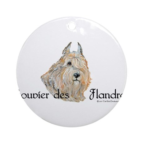 Bouvier Sweetie Ornament (Round)