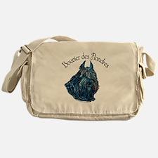 Bouvier des Flandres Black Messenger Bag