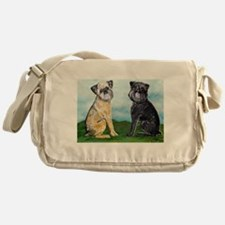 Brussels Griffon Best Friends Messenger Bag