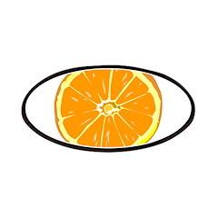 orange slice Patches