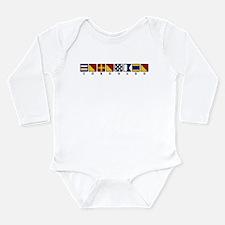 Coronado Long Sleeve Infant Bodysuit