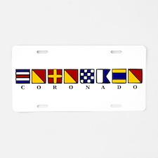 Coronado Aluminum License Plate