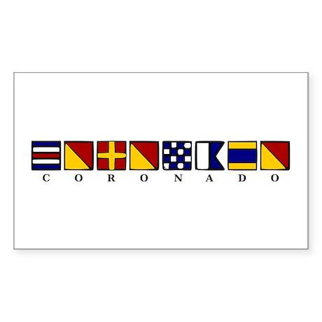 Coronado Sticker (Rectangle)
