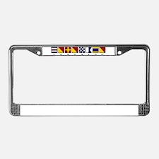 Coronado License Plate Frame