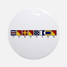 Coronado Ornament (Round)