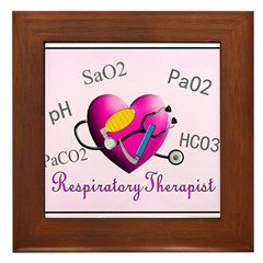 Respiratory Therapy XXX Framed Tile