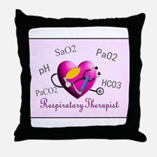 Respiratory Therapy XXX Throw Pillow