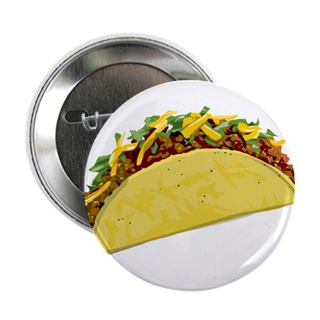 """Taco 2.25"""" Button (10 pack)"""