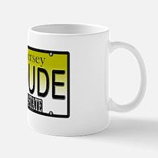 AC Dude NJ Vanity Plate Mug