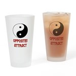 OPPOSITES ATTRACT Drinking Glass