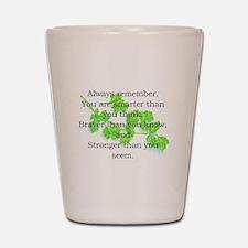 ALWAYS REMEMBER.. Shot Glass