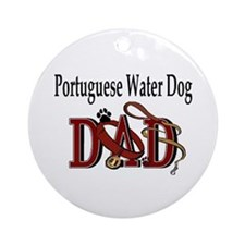 Portuguese Water Dog Ornament (Round)