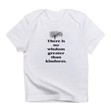 WISDOM GREATER THAN KINDNESS (TREE) Infant T-Shirt