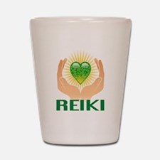 REIKI Shot Glass