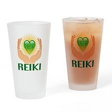 REIKI Drinking Glass