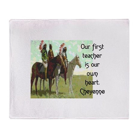 OUR FIRST TEACHER Throw Blanket