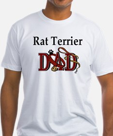 Rat Terrier Dad Shirt