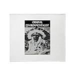 ORIGINAL ENVIRONMENTALIST Throw Blanket