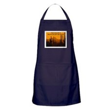 MAY THE GREAT SPIRIT WALK WITH YOU Apron (dark)