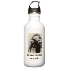 RUN WHERE THERE ARE NO PATHS... Water Bottle