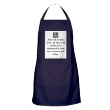 HOW WE TREAT EACH OTHER (ORIGINAL) Apron (dark)