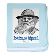 WHITMAN QUOTE baby blanket