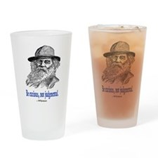 WHITMAN QUOTE Drinking Glass