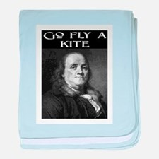 GO FLY A KITE (2) baby blanket
