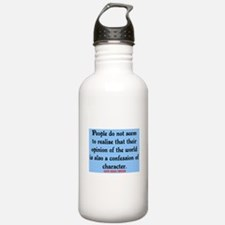 EMERSON - CHARACTOR QUOTE Water Bottle