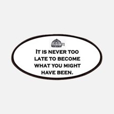 NEVER TOO LATE Patches