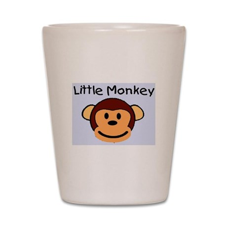 LITTLE MONKEY Shot Glass