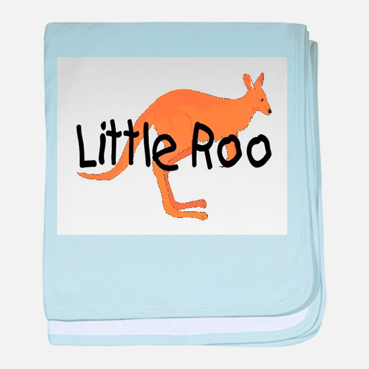 LITTLE ROO - BROWN ROO baby blanket