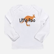 LITTLE ROO - BROWN ROO Long Sleeve Infant T-Shirt