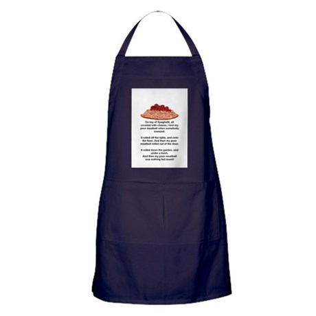 ON TOP OF SPAGHETTI.. Apron (dark)