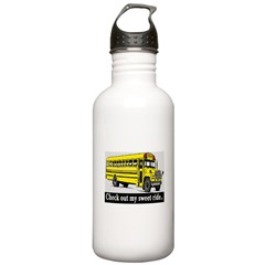 CHECK OUT MY SWEET RIDE Water Bottle