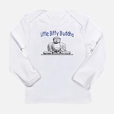 LITTLE BITTY BUDDHA Long Sleeve Infant T-Shirt